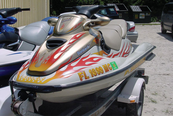 Personal Water Craft Graphics